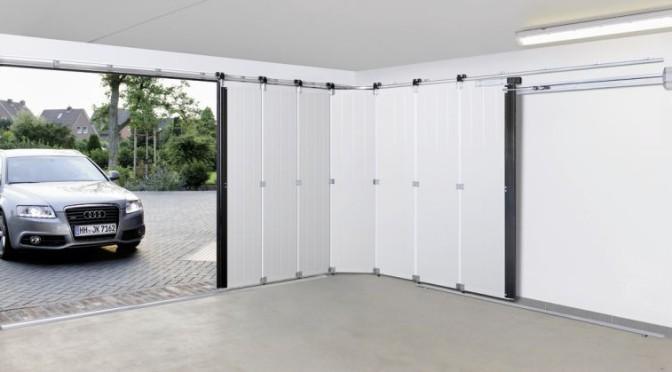 Modern und Platz sparend: das Hörmann-Seitensectionaltor
